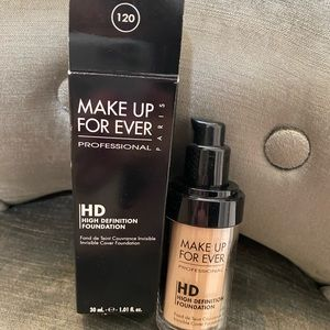 Makeup Forever High Definition Foundation
